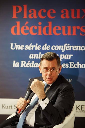 Club Les Echos Débats du 20 novembre 2014 avec Georges Plassat