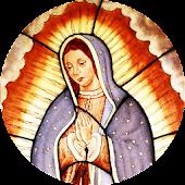 Virgen de Guadalupe Editable