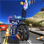 Tron Bike Robot Traffic Rider Icon