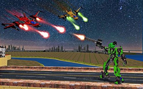 Dragon Robot Transform War Futuristic Robot Battle - náhled