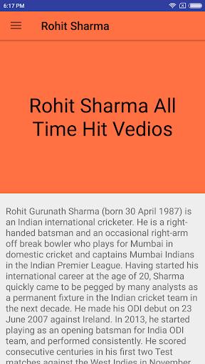Rohith Sharma - Special 1.0 screenshots 1