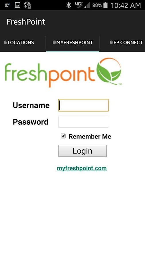 FreshPoint- screenshot