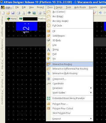 PCB PiNOY: Altium Designer 10 - Basics - Reusing fanout of