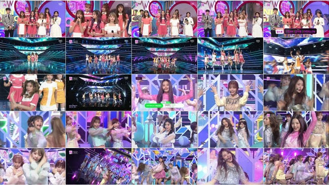 190407 (1080p) IZONE Part – SBS Inkigayo