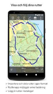 visa karta över sverige Topo GPS Sverige – Appar på Google Play visa karta över sverige