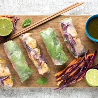 Vietnamese Salmon Summer Rolls Recipe