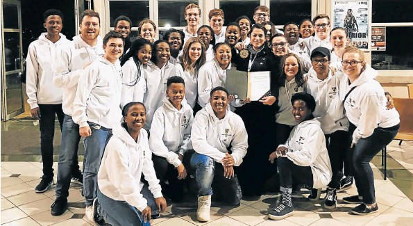 The Stirling Chamber Choir came in fifth at the 10th World Choir Games held in Tshwane last week. The 30-member chamber choir, made up mainly of high school students, triumphed over fellow South African youth choirs, namely the NCA North West Youth Choir, University of Pretoria Youth Choir and the KwaZulu-Natal Youth Choir, making them the best South African choir at the event.