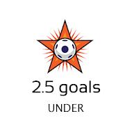Under 2.5 goals