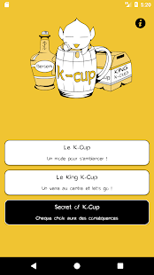 K-Cup jeu à boire - náhled