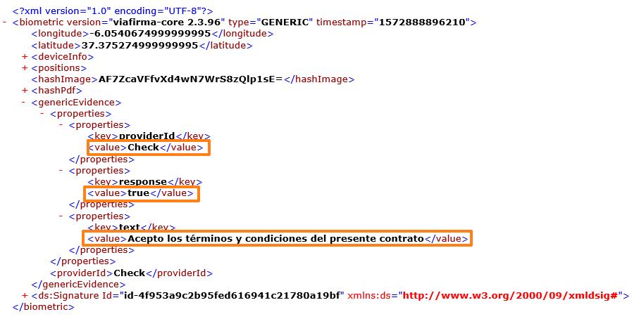 XML check avanzado