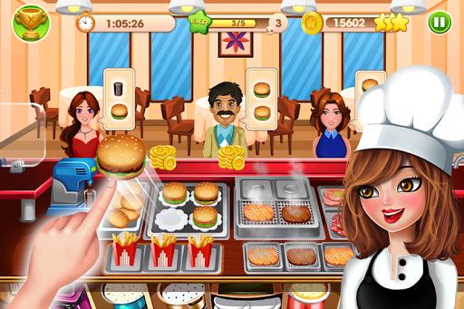 cooking talent - restaurant fever screenshot 1