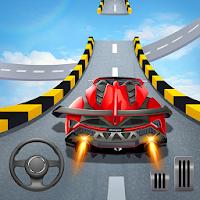 無料カースタント3D - 極上のシティカーレーシング