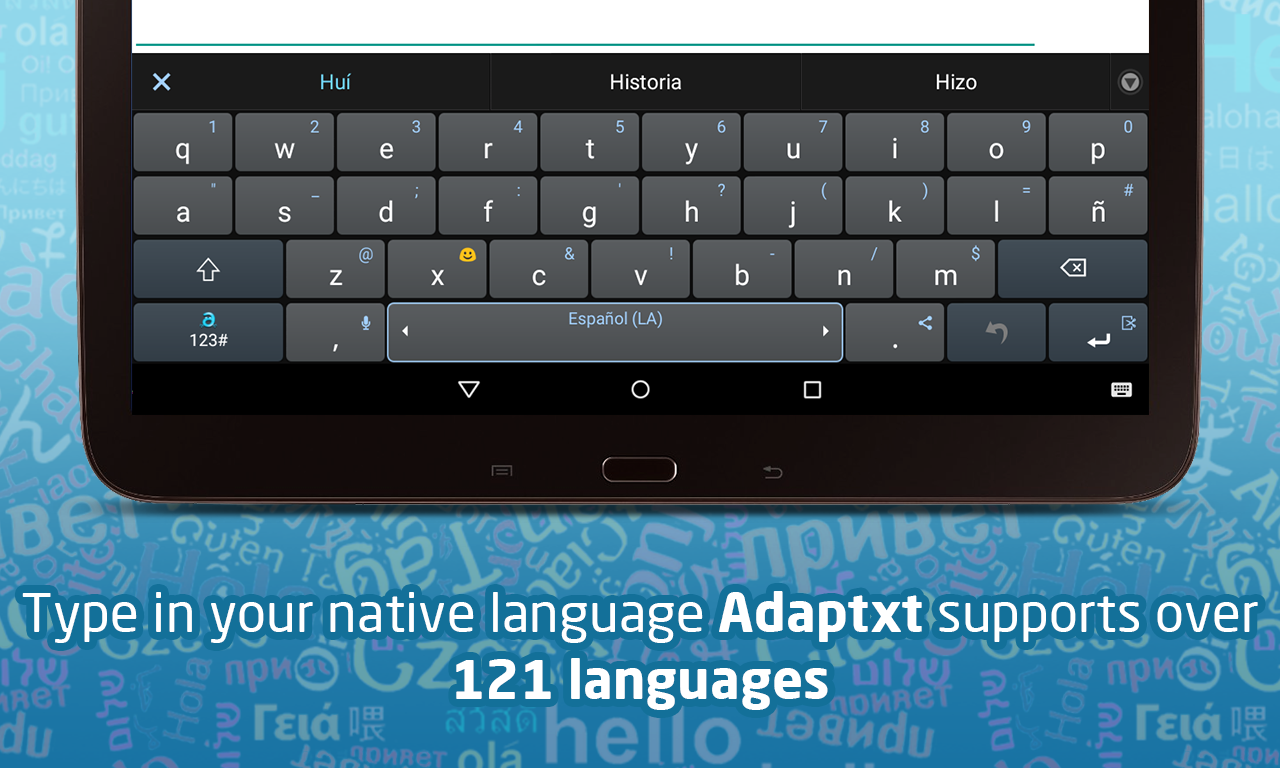 Adaptxt Free Keyboard- screenshot