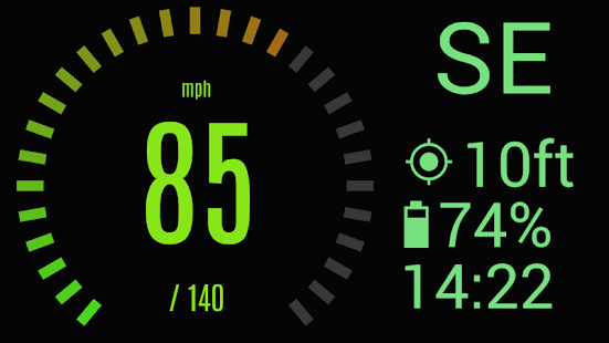 Custom HUD Speedometer Pro Screenshot