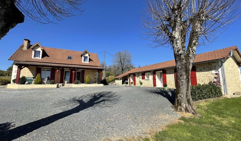 House with terrace La Douze