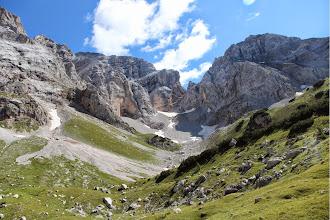 Photo: Busa di Sacco con Cime della Finestra e Padaiola Bassa