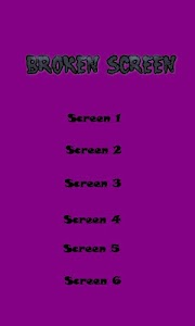 Super Broken Screen - Joke screenshot 8