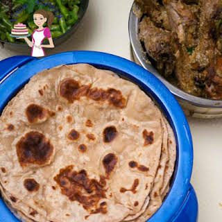 How to make Indian Chapati or Whole Wheat Tortilla.