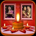 Diwali Photo Frames – Dual icon