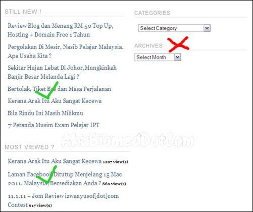 blog Izwanyusof sitemap dan roll entry ulasan izwanyusof Contest oleh AkuBiomed