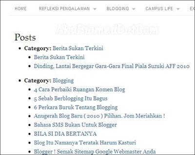 blog Izwanyusof sitemap ulasan izwanyusof Contest oleh AkuBiomed