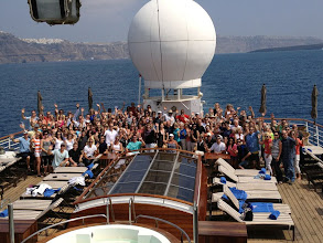 Photo: All the 75 Distributorships on board the Wind Star!