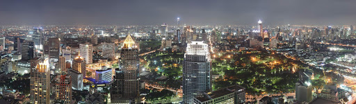bangkok-at-night.jpg - Bangkok at night, as seen from the top of the Banyan Tree Hotel.
