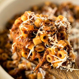 Slow Cooker Beefy Mac Recipe