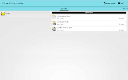 Office Documents Viewer v1.29.3 Patched APK 3