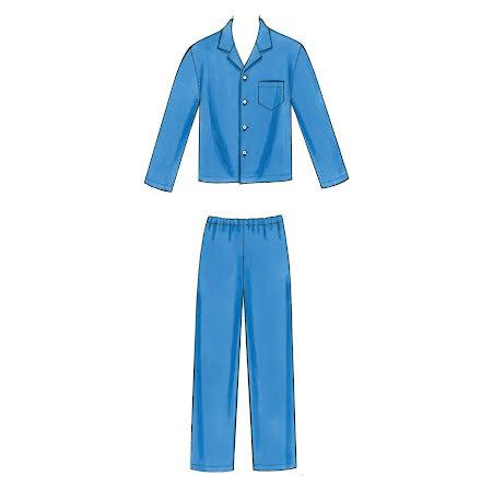 Pyjamas Kwik Sew 3604