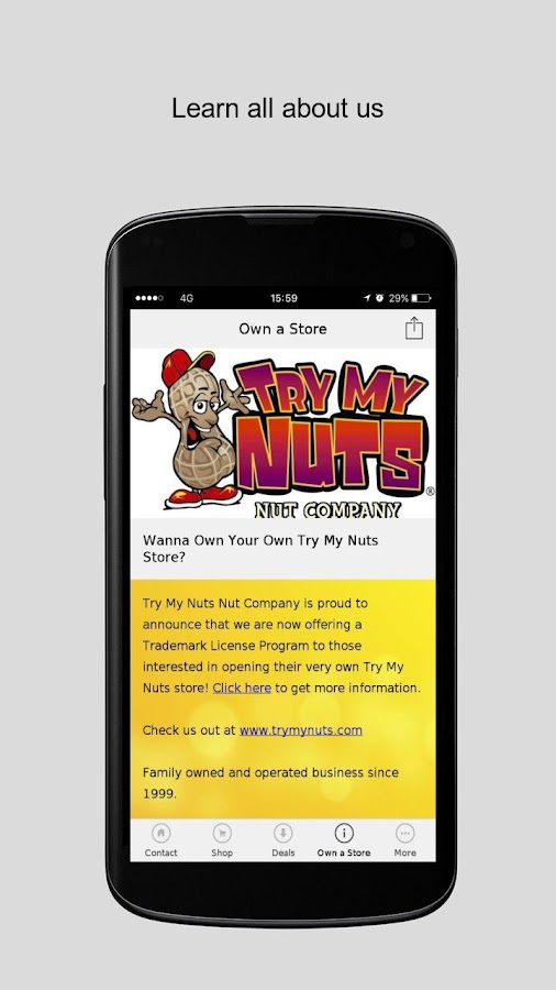 Try My Nuts Nut Company- screenshot
