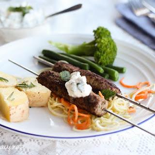 Lamb Mince Skewers Recipe