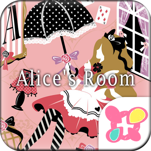 Pink Wallpaper Alice's Room Icon