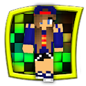 golden pack of minecraft skins icon