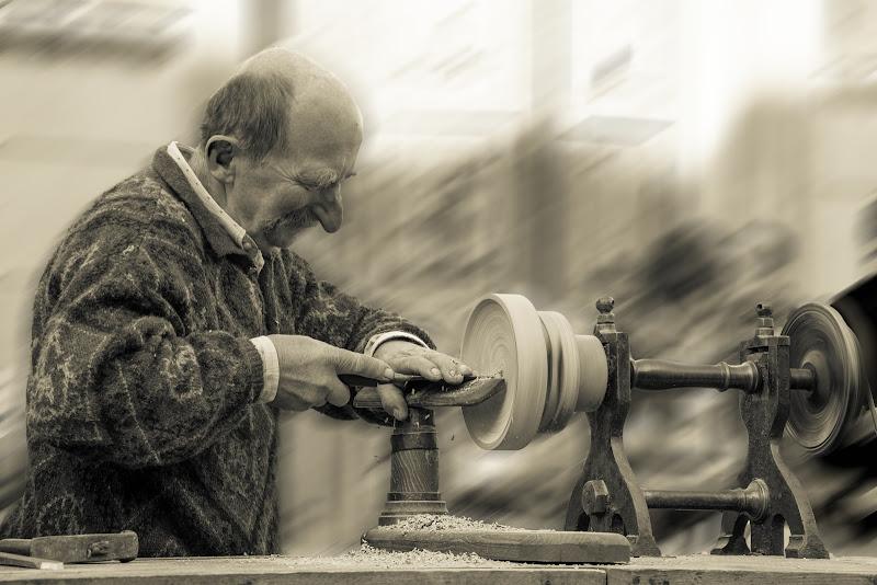 L arte del legno di Edoard Basile