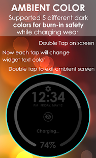 Charging Widget for Wear- screenshot thumbnail