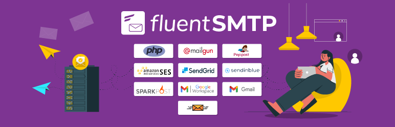 fix gravity forms not sending email with fluentsmtp, fluentsmtp banner