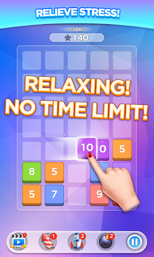 Merge Number Puzzle apktram screenshots 2