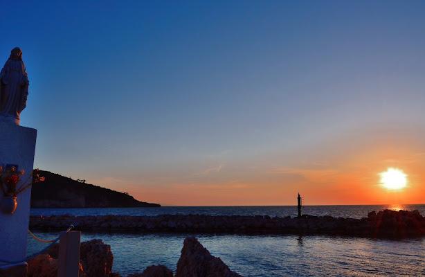 Si fa sera sulla Madoninna del mare di benny48