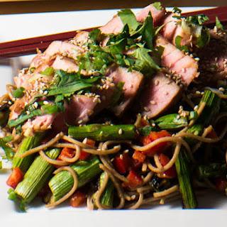 Miso Tuna and Soba Salad.