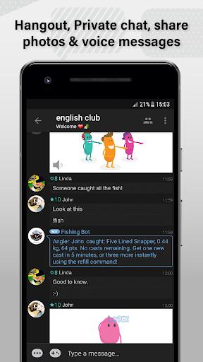 Palringo Group Messenger screenshot 2