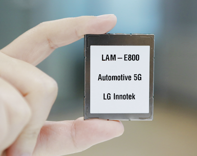 LG Innotek developed the world's first 5G communication module for automotive that can be applied to vehicles using Qualcomm chips
