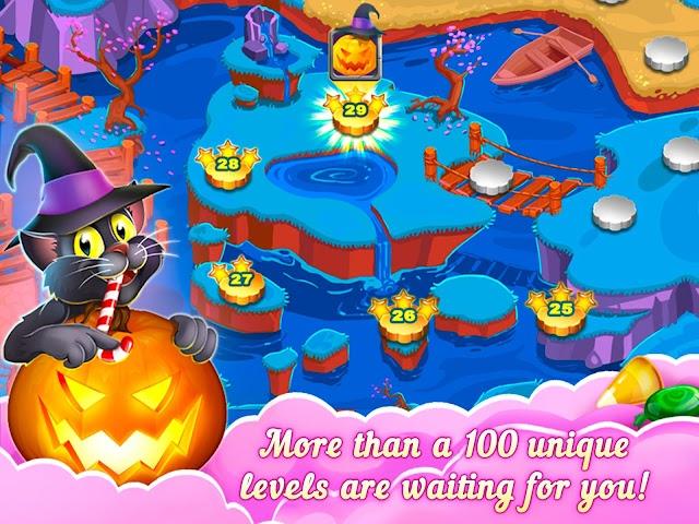android 3-Süßigkeit: Süße Geheimnis Screenshot 10
