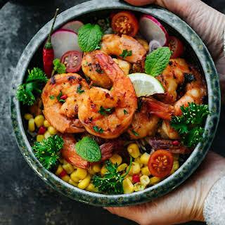 Sweet Chili Shrimp.