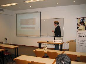 Photo: Jason Hoffman of Joyent talking about Cloud Computing at UCEMA