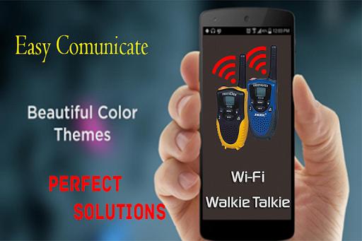 Walkie Talkie Wifi - Free