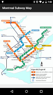 Montreal Subway Map- screenshot thumbnail