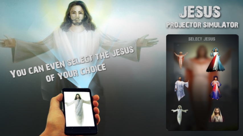 android Jesus Projector Simulator Pro Screenshot 0