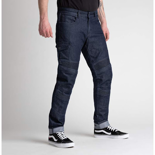 Broger Ohio Jeans (raw navy)