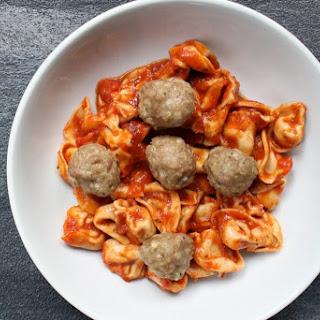 Turkey Pesto Meatballs.